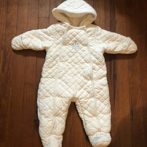 157e75e8a First Impressions Other - First Impressions 12 month white snowsuit